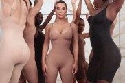 A post from Kim Kardashian West's Instagram page announcing her new shapewear line, Kimono Body. Photo: Instagram