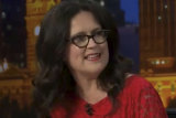 Annabel Crabb hosted Q&A on Monday night.