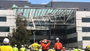 The ceiling of the building at Curtin University has collapsed, killing one person.