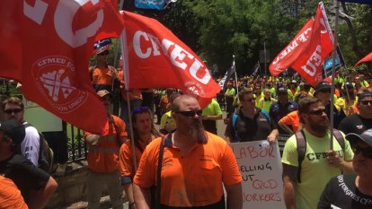 'Couldn't build a cubby house': Union flags boycott over Cross River Rail