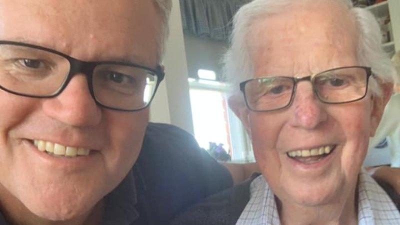 Scott Morrison pays tribute to father 'much loved' father, John