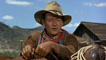 John Wayne finds himself in controversy decades after his death.