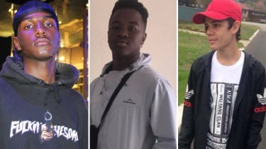 Anwre Ige, Augustine Janga and Mark Kickett were also struck by the car.
