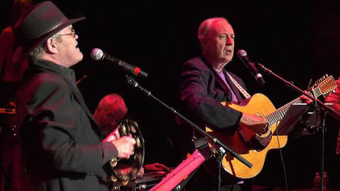 Surviving Monkees Micky Dolenz and Mike Nesmith took their fans down memory lane.