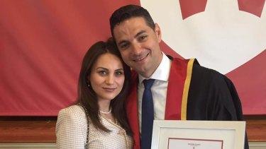 Liverpool councillor Tina Ayyad and her husband, former Liverpool mayor Ned Mannoun.