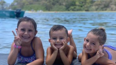 Laianah, Aaliyah and Trey all perished in the Camp Hill blaze.
