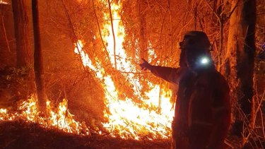 Tough conditions for firefighters were set to return on Friday and continue across the weekend and into next week.