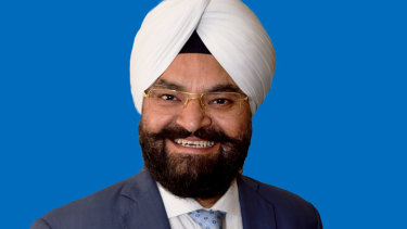 Gurpal Singh, Liberal candidate for Scullin in Melbourne's northern suburbs.