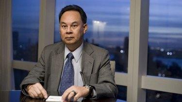 Former Thai foreign minister Kasit Piromya.