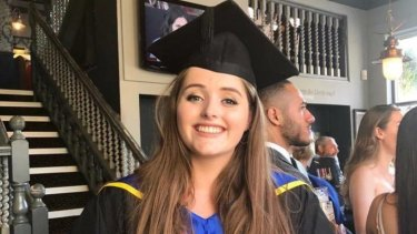"""Grace Millane's family is """"devastated"""" she is missing."""