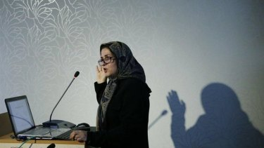 Melbourne University academic Meimenat Hosseini-Chavoshi.