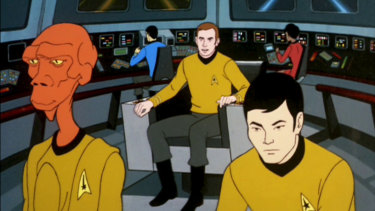 Star Trek: The Animated Series, which aired originally between 1973 and 1974.