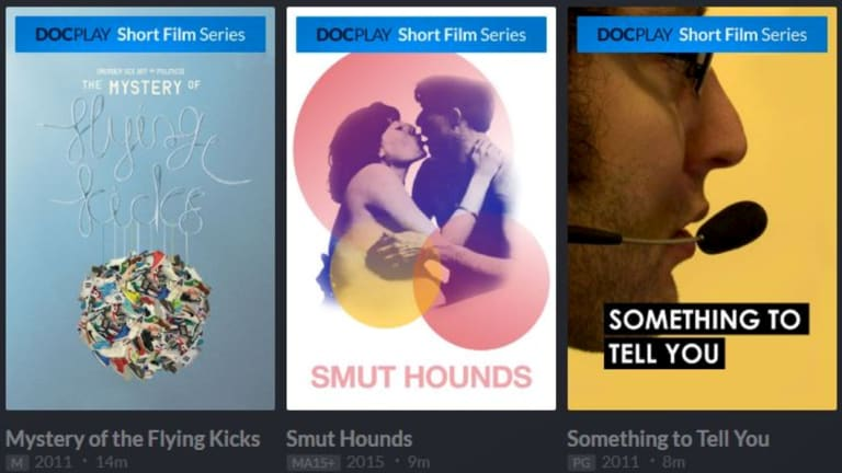 A portion of DocPlay's excellent short film selection.