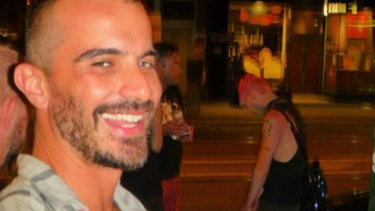 Nik Dimopoulos was forcefully detained at a Fitzroy bookshop.