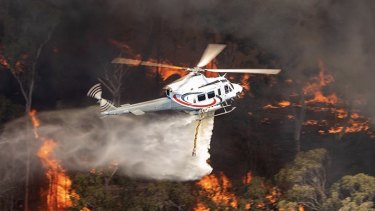 The private operator was called upon 75 times to fight major bushfires during the 2019-20 fire season.