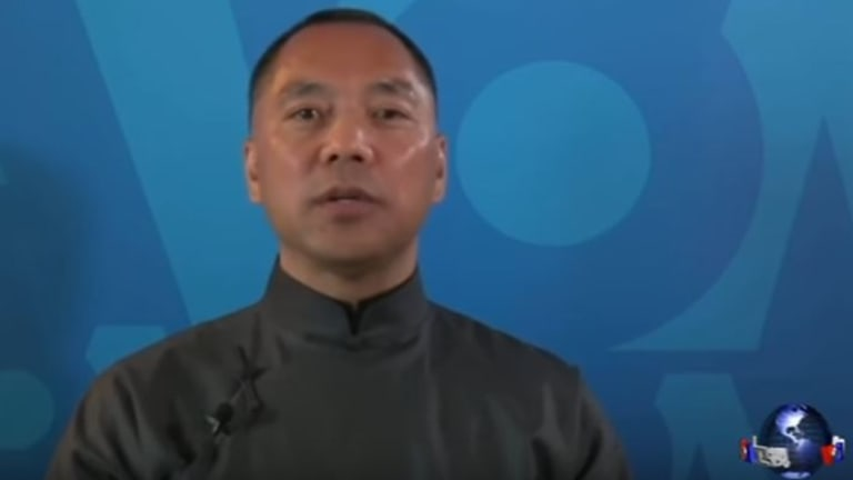 """Guo Wengui, aka Miles Kwok: """"The vast majority are in Australia. That's our battlefield."""""""