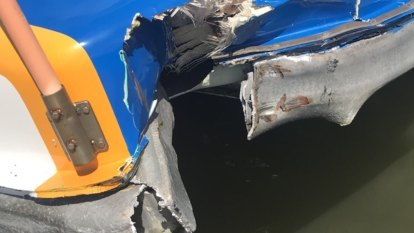 CityCat crashes into pontoon, leaving passengers bruised and stranded