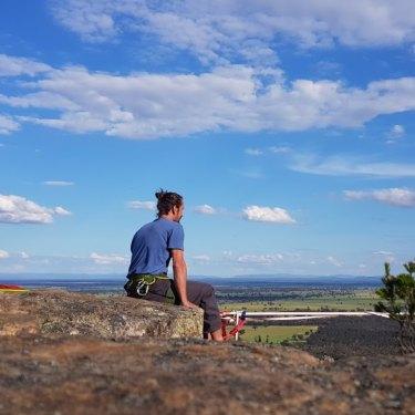 David Wegman now runs a retreat at Wartook, near the Grampians in Victoria.