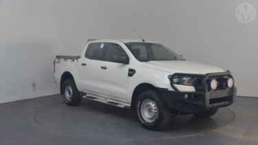 A similar model to the vehicle police are looking for in relation to the hit and run.
