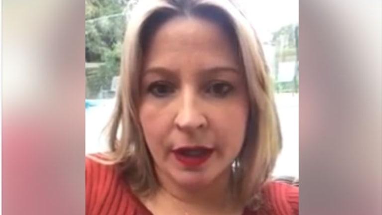 Anti-Safe Schools campaigner and Liberal delegate Marijke Rancie.