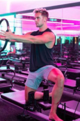 Pilates instructor Adam Cooper is single and ready to mingle.