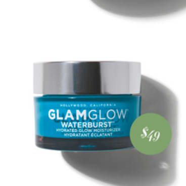 Glam Glow Waterburst Hydrated Glow Moisturizer, $49.