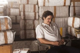 A scene from Narcos.