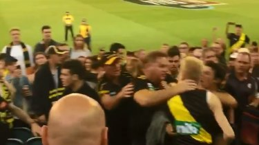 Thursday night's brawl at the MCG.