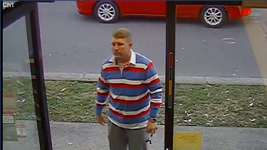 Bradley Dillon pictured in Leichhardt in August 2014, shortly before he was shot and stabbed to death.