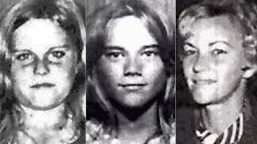 Barbara McCulkin (right) and her daughters Vicky (left) and Leanne (centre).