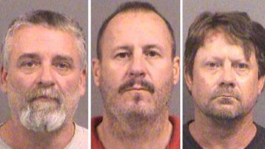 Gavin Wright, Curtis Allen and  Patrick Eugene Stein, members of a Kansas militia group who were charged with plotting to bomb an apartment building filled with Somali immigrants in Kansas.