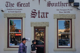 The Great Southern Star office in Leongatha