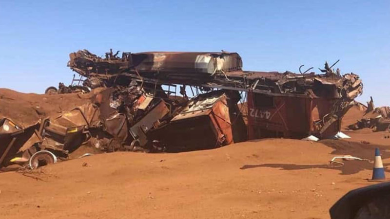 BHP (ASX: BHP) train derailment felt around the world