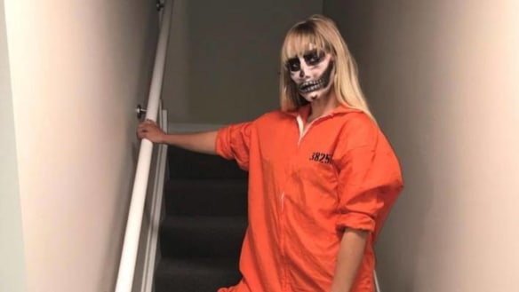 Driver posts 'hide your children' prison Halloween photo after causing death of teen