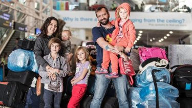 Edgar Laubscher, his wife Lucia, and their four childrenwere among those who did immigrate to New Zealand, arriving from South Africa in June 2017.