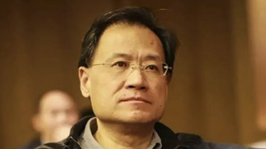 Chinese law professor Xu Zhangrun.