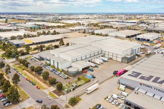 Centuria Industrial Fund paid $49 million for a cold storage site inDerrimut, Victoria in November.