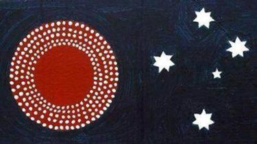 A new flag? A new beginning. Illustration by John Joseph.
