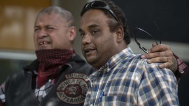 Members of the Mongrel Mob in Christchurch visited victims of the terrorist attack last Saturday.