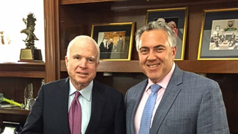 John McCain and Joe Hockey.