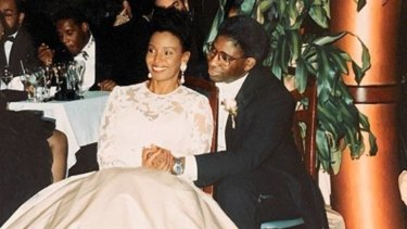 B. Smith and Dan Gasby's December 1992 wedding was held at the New York location of her restaurant.