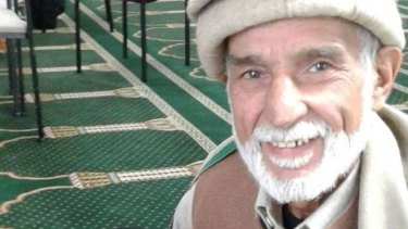 Haji-Daoud Nabi was shot while trying to shield another person from the gunman, his son says.