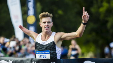 Michael Roeger will compete in Tokyo on Sunday in the men's T46 marathon.