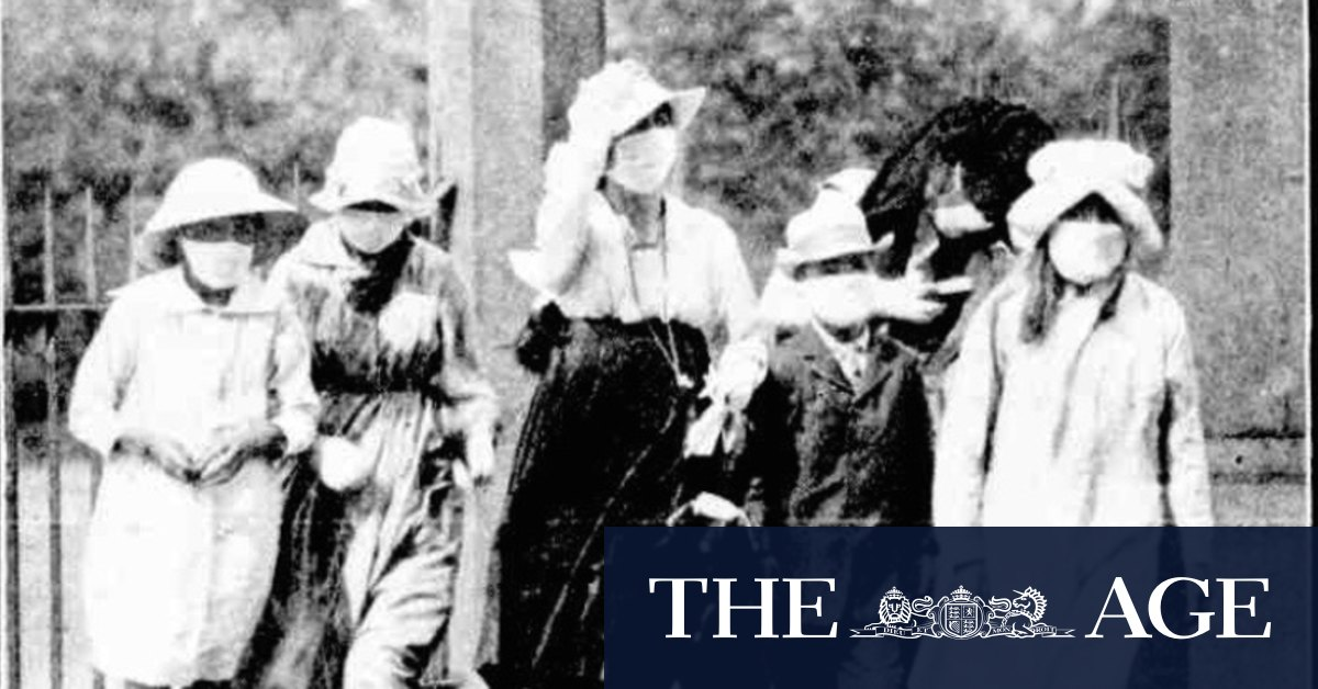 Masks lockdowns fines and a devastating second wave: a century on history repeats – The Age