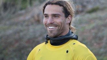 Big Wave surfer Alex Botelho of Portugal.