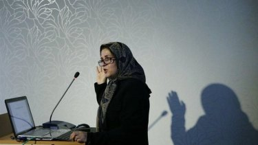 Melbourne University academic Meimenat Hosseini-Chavoshi was detained in December and has been released on bail.