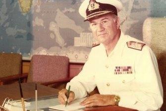 Vice-Admiral David Leach.