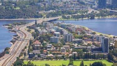 South Perth Peninsula is changing rapidly.