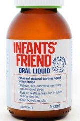 Infants' Friend oral liquid has been recalled due to the presence of chloroform as an inactive ingredient.