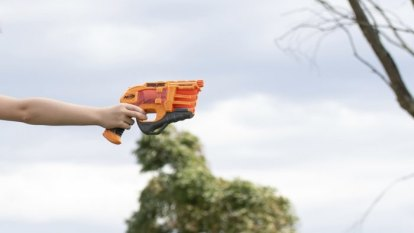 Mum with a Nerf Blaster: just call me the fun police